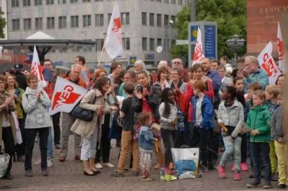 Demo auf dem Luisenplatz