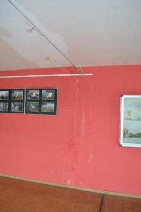 Wasserschaden an Wänden